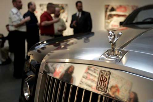 Rare Experimental Rolls Royce Visits Dallas Printed From