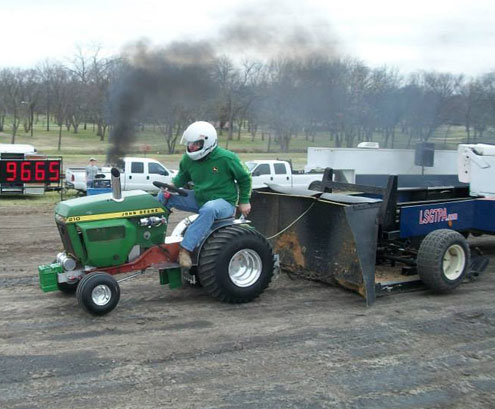 Lone Star Garden Tractor Pulling Association Pulling Teams Test At