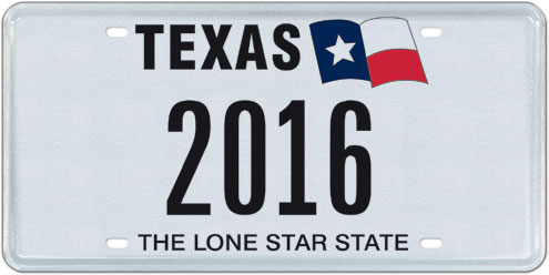 My Plates Texas >> Texas To Auction Historic License Plate Numbers North Texas E News