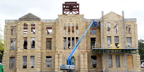 Fannin County Commissioners Court Discusses Courthouse Restoration North Texas E News