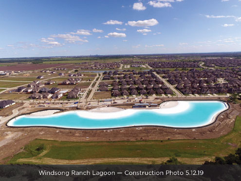 First Crystal Lagoons ® amenity in North Texas plans June grand