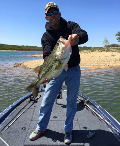 Oklahoma weekly fishing report north texas e news for Fishing forecast oklahoma