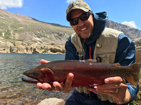 Colorado weekly fishing report north texas e news for Crystal lake fishing