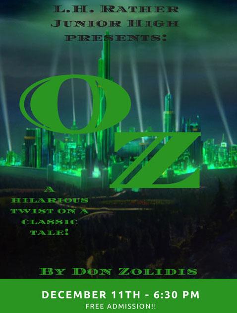 L H  Rather Jr  High presents Oz Dec  11 - North Texas e-News