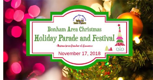 Upcoming Christmas Holiday Events From The Bonham Area