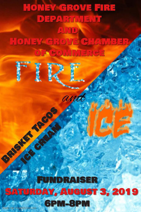 Fundraiser In Honey Grove For Volunteer Fire Department And