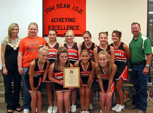 Tom Bean Tx >> Tom Bean Cheerleaders Win Superior Ratings North Texas E News