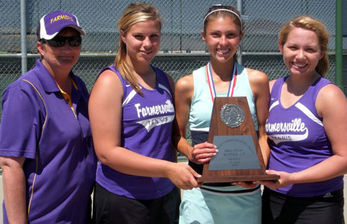 farmersville senior singles Farmersville's becky forbus wins third consecutive district tennis championship senior at farmersville high school singles, boys doubles, girls.