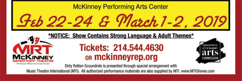 McKinney Repertory Theatre to perform musical, <i>Dirty