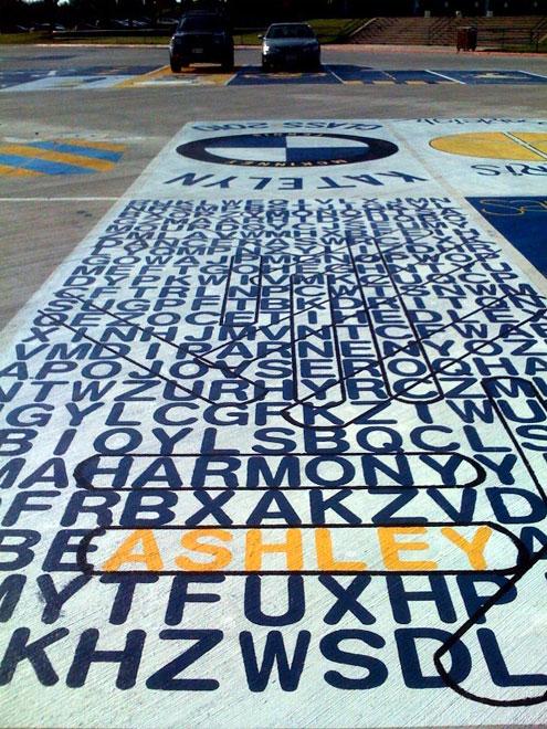 Font Color Blue B Mckinney High Seniors Park Artfully Font B North Texas E News