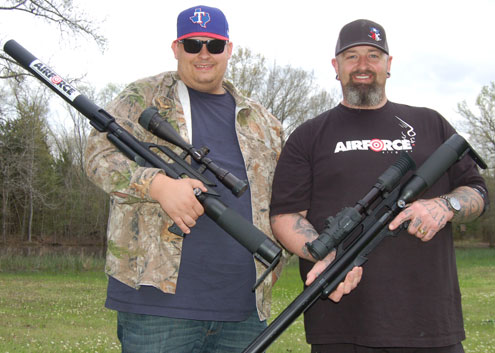 Air rifles legal in Texas for big game - North Texas e-News