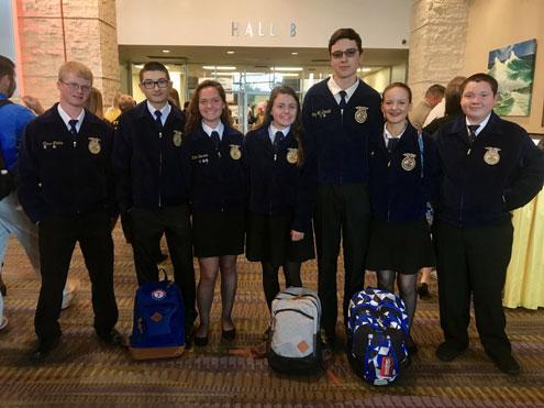 Bonham Ffa Members Attend Texas Ffa Convention In Corpus