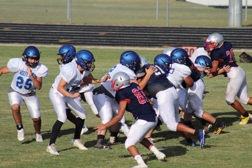 Wolfe City Wolves scrimmage photos - North Texas e-News