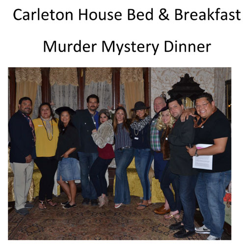 Hosting Events At Bed N Breakfast