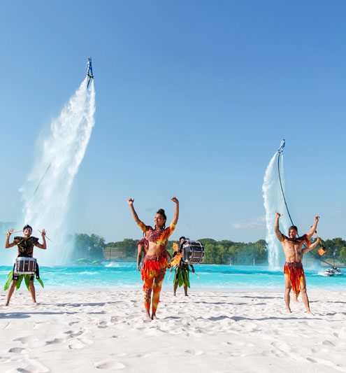 Hundreds attend preview of North Texas' first Crystal Lagoons