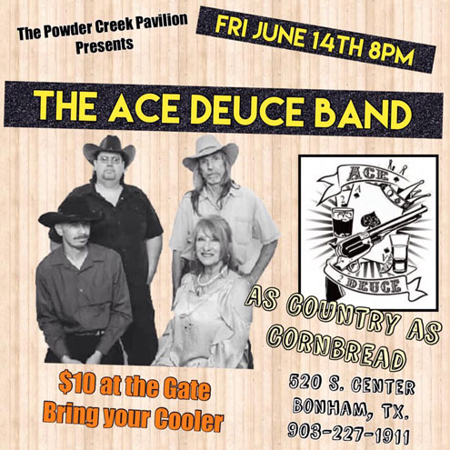 7c842f3a9e8c The Ace Deuce Band - country's finest at Powder Creek Pavilion ...