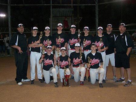 Trenton-Fannin Outlaws 14U baseball team wins Farmersville