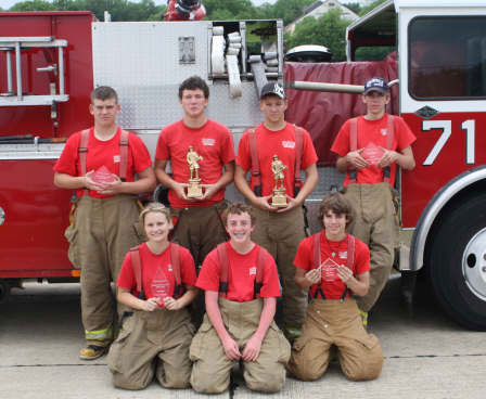 Collinsville Fire Department Explorers compete in 2009 Fire