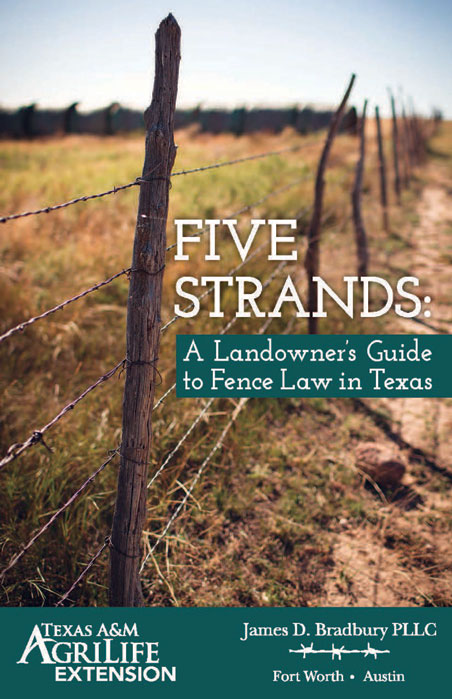Fence Law Book Topic Of March 22 Webinar North Texas E News