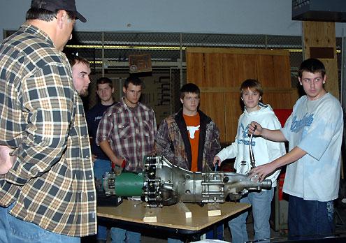 Bonham High School students, electric vehicle project get
