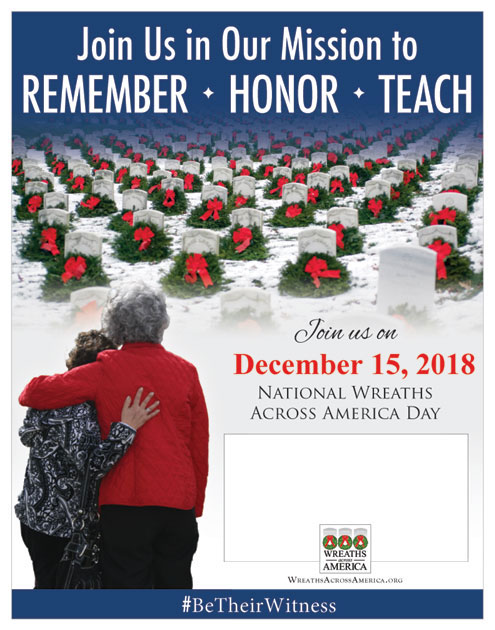 Wreaths Across America - Sister Grove Chapter NSDAR - North