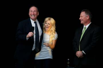 Volvo Dealerships In California >> From ballroom to showroom, Julianne Hough delights Fans - North Texas e-News