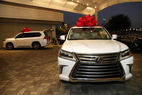 Perfect Park Place Lexus Grapevine Kicks Off GRACE Toy Drive   North Texas E News