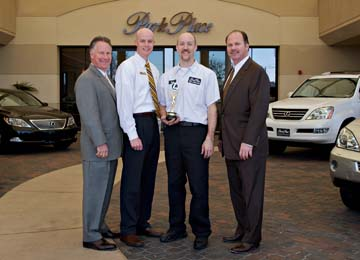 Nice Park Place Lexus Grapevine Names Members Of The Year   North Texas E News