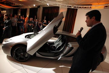 Volvo Dealerships In California >> McLaren Dallas unveils MP4-12C - North Texas e-News