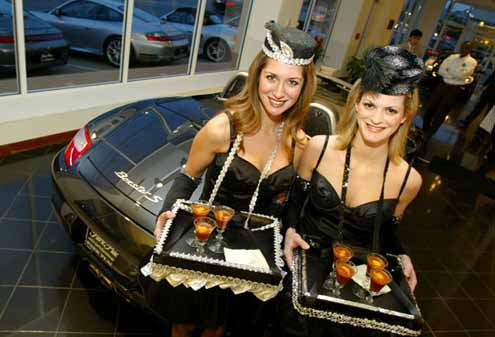 Porsche North Houston >> 'Boxers and Boxsters': The Real Estate Council kicks off FightNight 2005 at Park Place Porsche ...