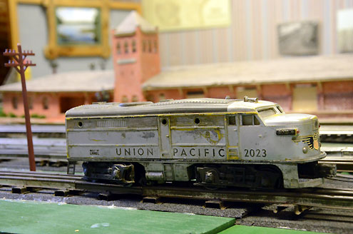 Model train layout moves to depot for Heritage Day, features