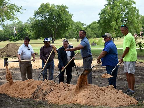City of Bonham breaks ground for splash pad - North Texas e-News