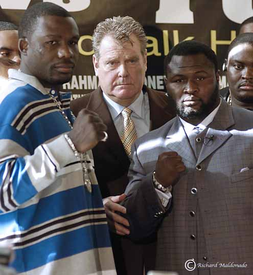 Rahman vs. Toney: a big win for the boxing fan! - North ... James Toney Wife